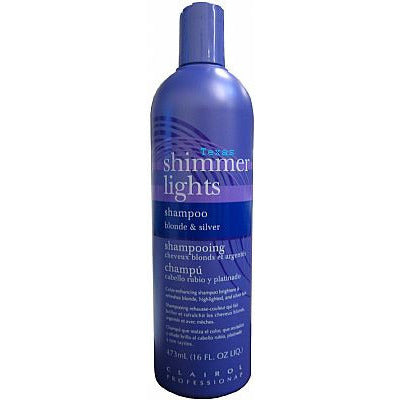 Clairol Shimmer Lights Shampoo - 16oz purple bottle