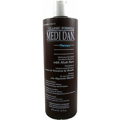 Clubman MEDI DAN Medicated Dandruff Treatment Shampoo - 16oz bottle