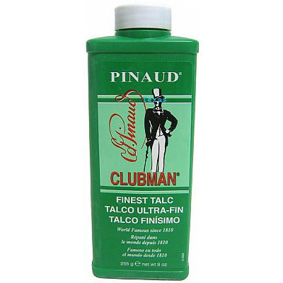 Clubman Pinaud TALC white - 9oz bottle - # 2760