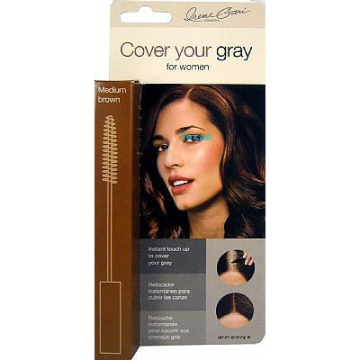 Cover Your Gray - Temporary Brush-In Hair Color - .25oz