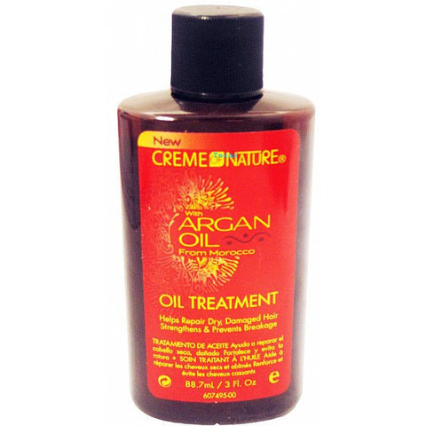 Creme of Nature ARGAN OIL Oil Treatment - 3oz bottle