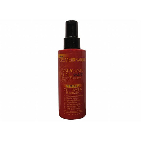 Creme of Nature Argan Oil 7-N-1 Leave In Treatment - 4.23oz bottle