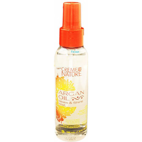 Creme of Nature Argan Oil Gloss and Shine MIST - 4oz spray #24440
