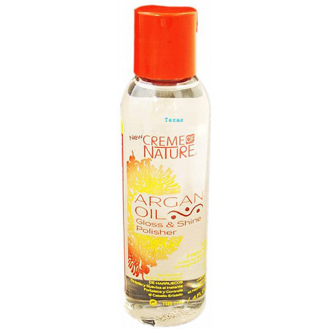 Creme of Nature Argan Oil Gloss and Shine POLISHER - 4oz bottle #24442