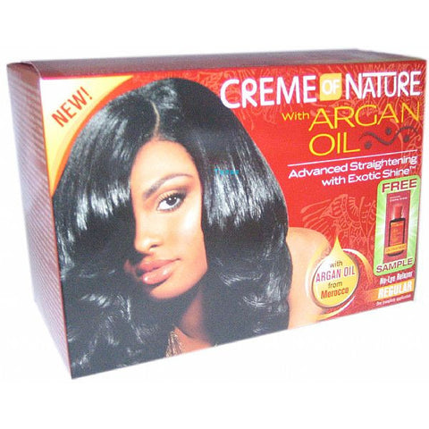 Creme of Nature Argan Oil No Lye Relaxer Kit