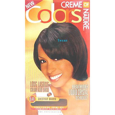 Creme of Nature COLORS permanent hair color for WOMEN kit
