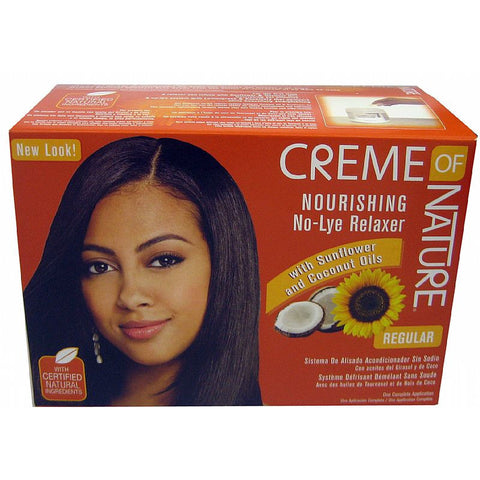 Creme of Nature NOURISHING No Lye Relaxer Kit