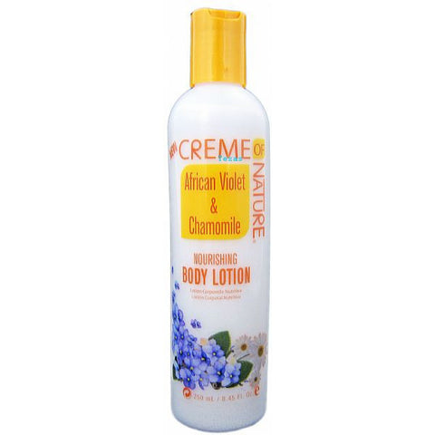 Creme of Nature Nourishing BODY LOTION - 8.45oz bottle