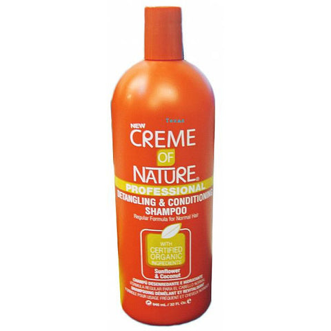 Creme of Nature REGULAR FORMULA Shampoo - 32oz bottle (NO CA)
