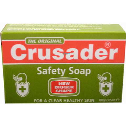 Crusader Safety Medicated Soap - 2.8 oz bar
