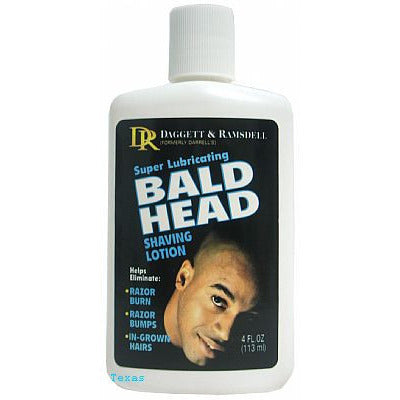 Daggett & Ramsdell BALD HEAD SHAVING LOTION - 4oz bottle (NO CA)