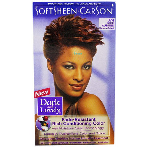 Dark & Lovely Fade Resistant Rich Conditioning Color - 374 Rich Auburn