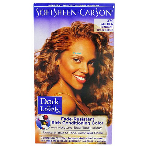 Dark & Lovely Fade Resistant Rich Conditioning Color - 379 Golden Bronze