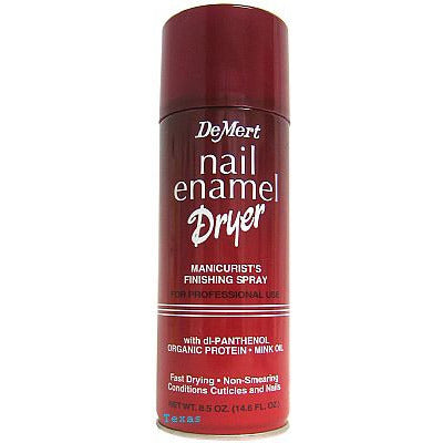 Demert NAIL Enamel Dryer - Manicurist Finishing Spray - 7.5oz aerosal