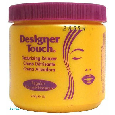 Designer Touch Texturizing Relaxer - 16oz jar