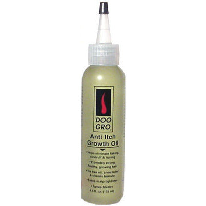 Doo Gro Anti Itch Growth Oil - 4.5oz bottle - green