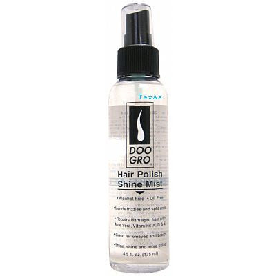 Doo Gro Hair Polish Shine Mist - 4.5 oz Pump