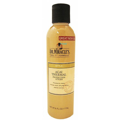Dr. Miracles Acai Thermal Protection Styler - 6oz bottle