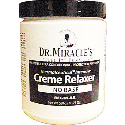 Dr. Miracles Creme Relaxer NO BASE - 18.75oz jar