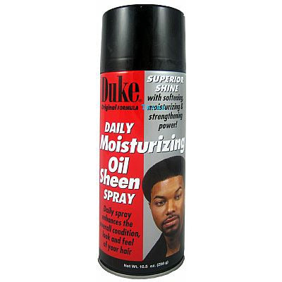 Duke Daily Moisturizing OIL SHEEN SPRAY - 10.5oz aerosal