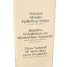 Gigi Natural Muslin Epilating Strips #0610