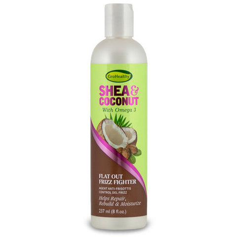 Gro Healthy Shea & Coconut Flat Out Frizz Fighter- 8fl oz