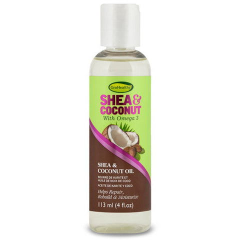 Gro Healthy Shea & Coconut Oil - 4fl oz