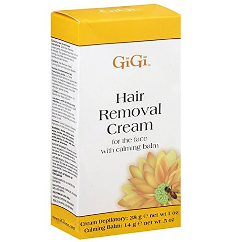 Gigi Hair Removal Cream - 0.5oz