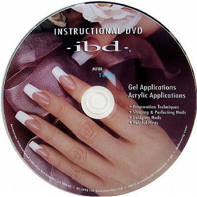 IBD Instructional DVD - Gel Applications & Acrylic Applications # 61106