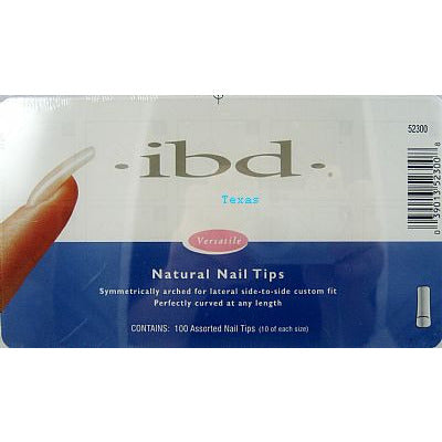 IBD Nail Tips / NATURAL Nail Tips - 100ct