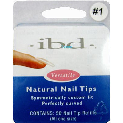 IBD Nail Tips / NATURAL Nail Tips - 50ct