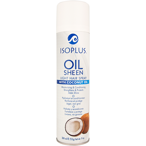 Isoplus Oil Sheen With Coconut oil - 9oz