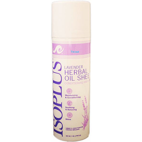 Isoplus LAVENDER Herbal Oil Sheen Hair Spray - 7oz aerosal
