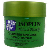 Isoplus Natural Remedy CUCUMBER MASSAGE CONDITIONER - 4oz jar - TexasBeautySupplies