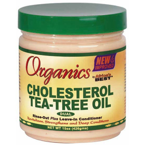 Africa Best ORGANICS CHOLESTEROL Tea Tree Oil - 15oz jar