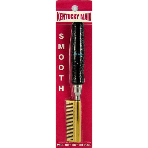 Kentucky Maid Smooth Pressing Comb - Temple #SPKM 0