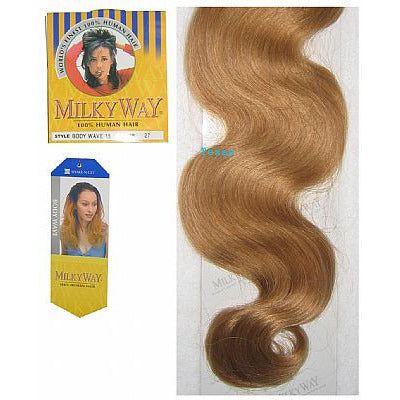 Milky Way BODY WAVE Weaving Hair - 100% Human Hair - 18inch