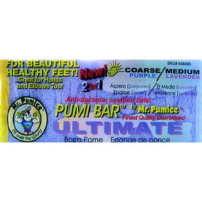 Mr. Pumice PUMI ULTIMATE - Coarse & Medium callus bar