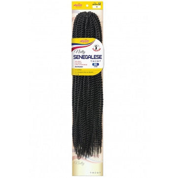 AMOUR SYNTHETIC KANEKALON BRAIDS NATTY SENEGALESE TWIST BIG 22""