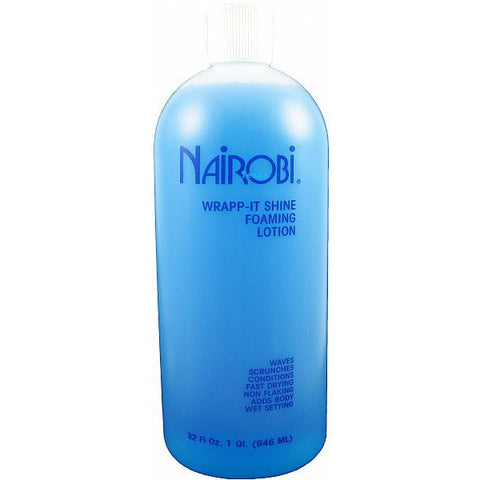 Nairobi Wrapp It Shine Foaming Lotion - 32oz bottle
