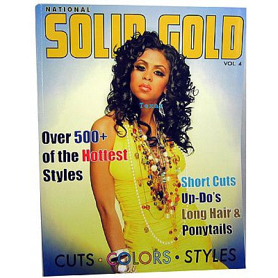 National Solid Gold 500plus Hottest Hair Styles book - vol 4