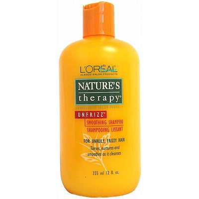 Natures Therapy UNFRIZZ Smoothing SHAMPOO - 12oz bottle