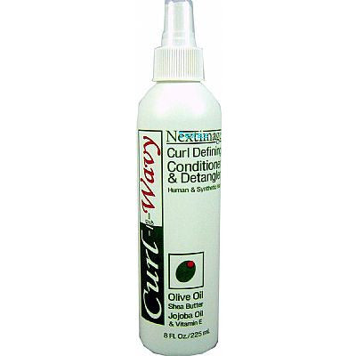 Next Image CURL N WAVY Curl Defining Conditioner & Detangler - 8oz spray