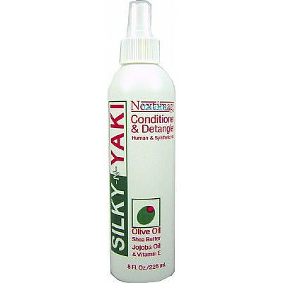 Next Image SILKY N YAKI Conditioner & Detangler - 8oz spray