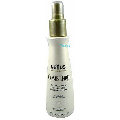 Nexxus COMB THRU Natural Hold Design and Finishing Spray - 5oz spray