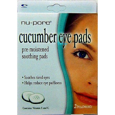 Nu-Pore CUCUMBER EYE PADS -  2 treatments # 70108