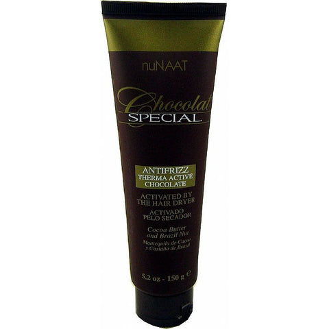 NuNAAT Chocolat AntiFrizz Therma Active Chocolate - 5.2oz tube #348