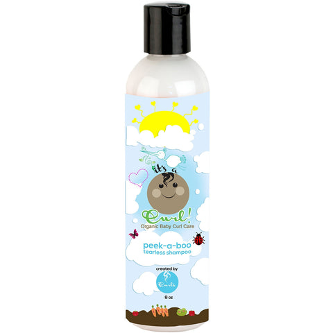 It's a Curl Peek-A-Boo - Tearless Baby Shampoo - 8oz