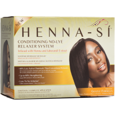 HENNA-SI NO-LYE RELAXER KIT - 1 Application