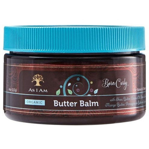 As I Am Born Curly Organic Butter Balm - 4oz